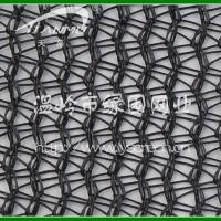 圆丝针织遮阳网--供遮阳率50-60%圆丝针织遮阳