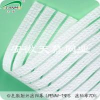 白色散射型外用遮阳幕遮阳率70%